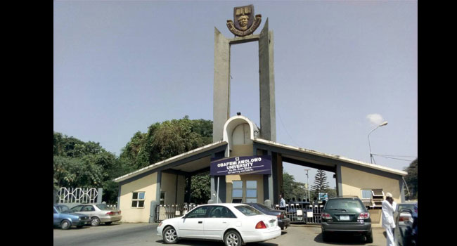 OAU Main Entrance. Photo: Channels TV