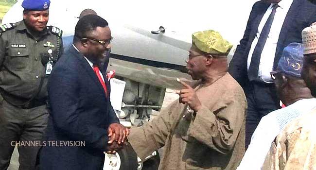 Ex-President Obasanjo Visits Cross River State