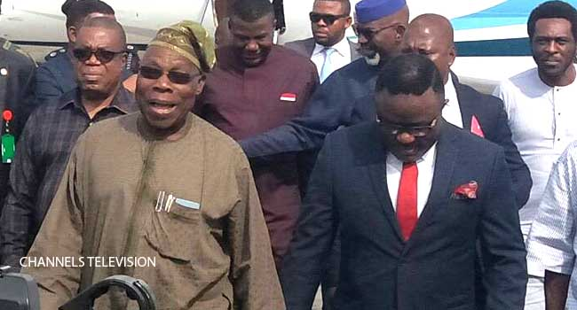 Obasanjo's Visit To Cross River In Photos