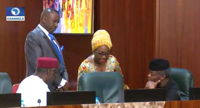 Oyo-Ita, Kyari In Heated Argument At The Villa