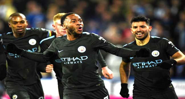 Manchester City Extend Lead With Sterling's Late Strike