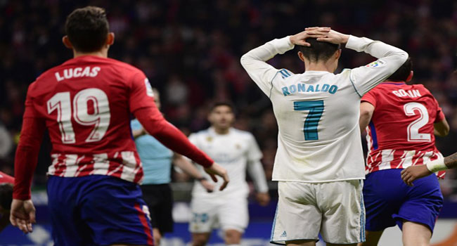 Derby Stalemate Leaves Real Madrid 10 Points Behind Barca