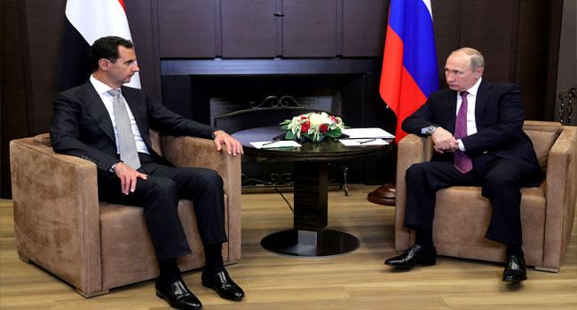 Putin Hosts Assad Ahead Of Syria Talks With Turkey, Iran