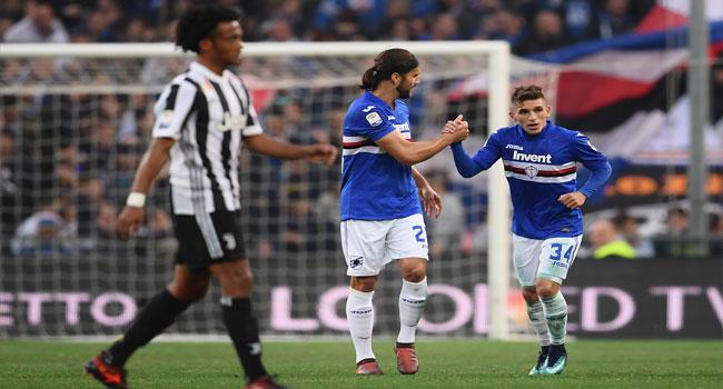 Juventus Suffer Shock Defeat At Sampdoria