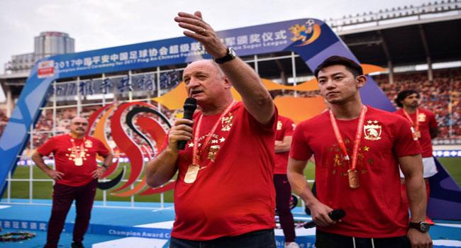 Chinese League: Scolari Bids Farewell After Guangzhou Triumph