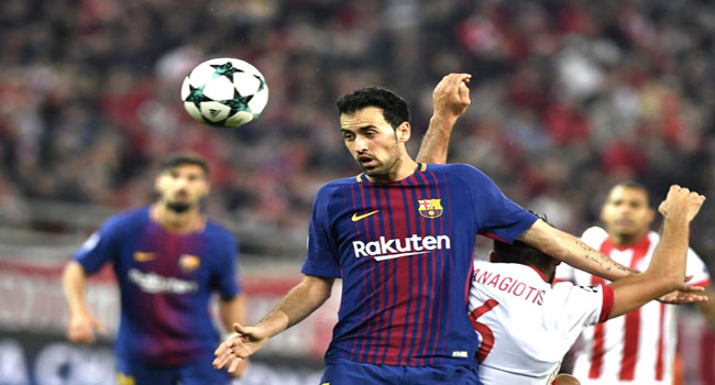 Busquets Returns To Barcelona Ahead Of Roma Test