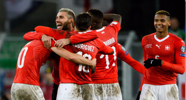 Switzerland Edge Out Northern Ireland To Qualify For World Cup