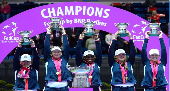 United States Defeat Belarus To Win 18th Fed Cup