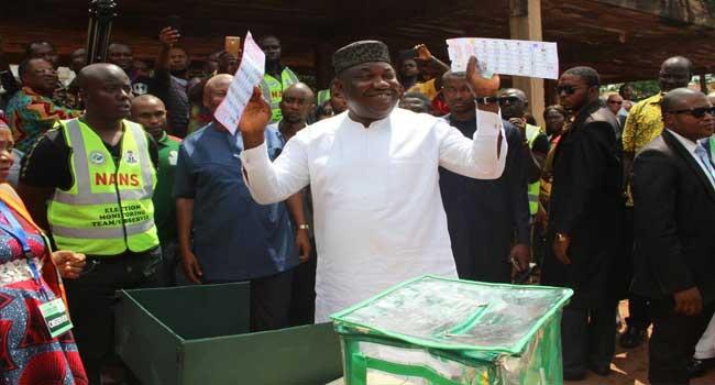 INEC Declares Ugwuanyi Winner Of Enugu Governorship Election