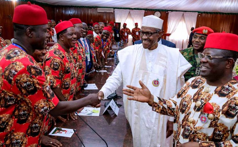 Nobody Can Separate Igbos From Nigeria, Says Buhari