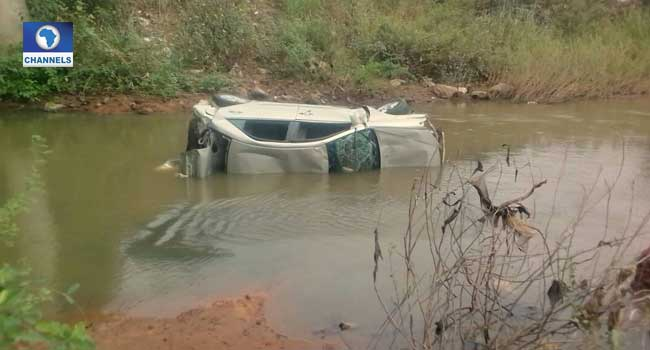 Car Plunges Into Asa River In Lone Accident