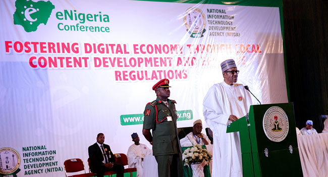 We Want To Make Nigeria Leading Exporter Of ICT Hardware In Africa – Buhari