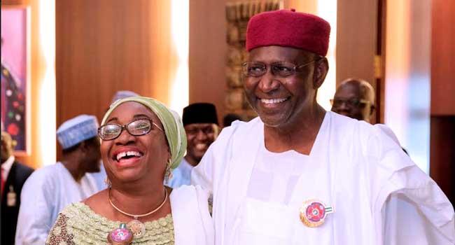 Kyari, Oyo-Ita Embrace At FEC Meeting