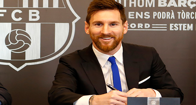 Messi Wins In EU Court Battle To Trademark Name