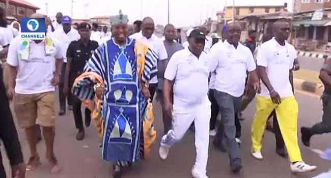 Obasanjo Leads Diabetes Awareness Walk In Abeokuta