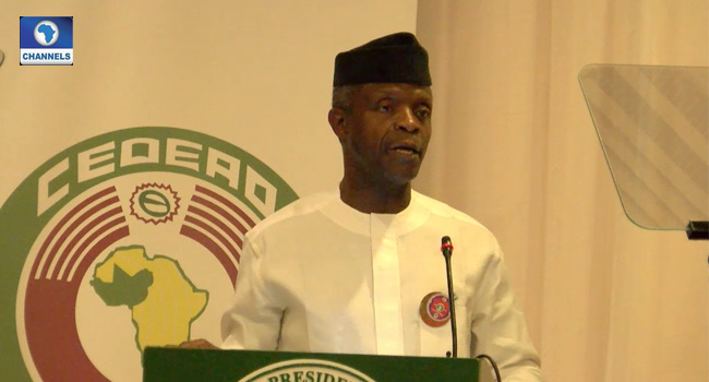 Financial Crimes Will Wipe Us Out If Not Checked – Osinbajo