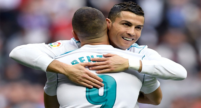 Ronaldo Relieved As Madrid Edge Five-Goal Malaga Thriller