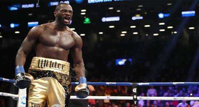 Wilder Calls Out Anthony Joshua After Retaining WBC
