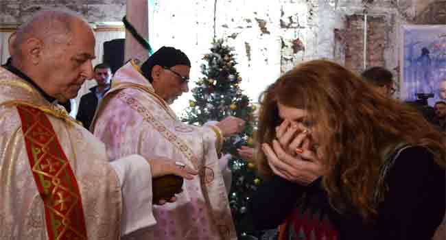 Iraq's Mosul Celebrates First Post-IS Christmas
