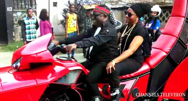 PHOTOS: Ayade, Bikers Thrill Residents In Calabar Carnival