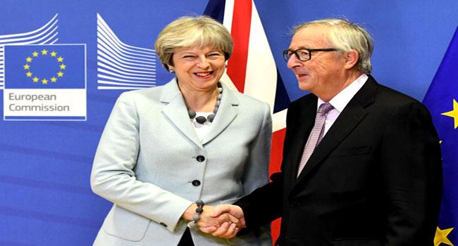 Britain, EU Reach Historic Deal On Brexit Divorce Terms