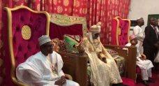 Buhari Visits Emir Of Kano In Photos