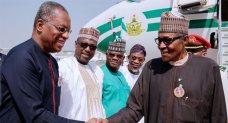 Buhari Arrives Abuja After Trip To Jordan