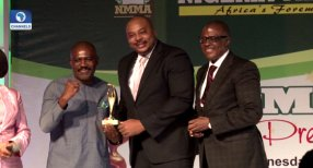 PHOTOS: Channels Television Wins TV Station Of The Year