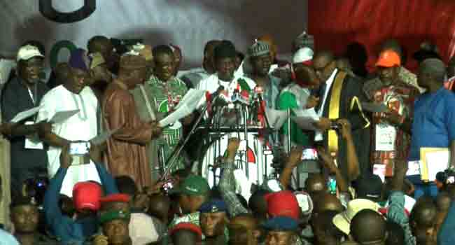 PDP National Convention: Full List Of Elected Officials
