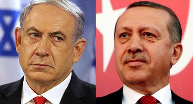 Israel's PM Accuses Erdogan Of Helping 'Terrorists'