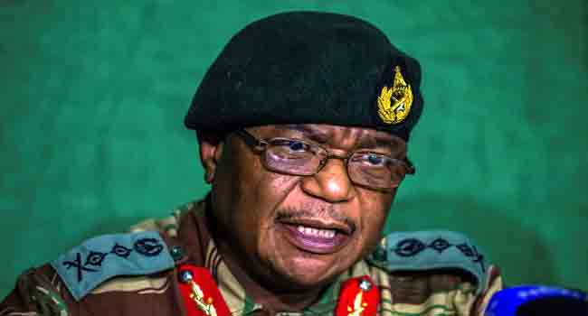 Zimbabwe ex- army chief Chiwenga sworn in as VP