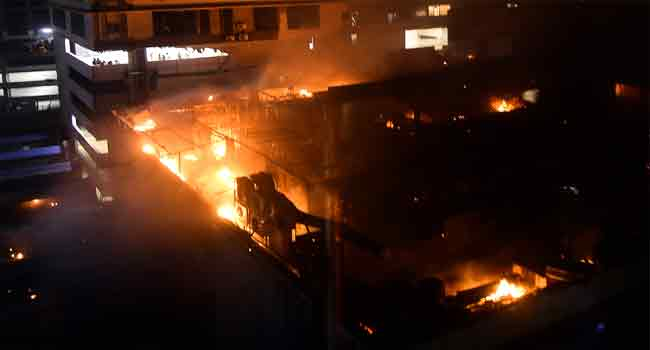 Mumbai Fire Kills At Least 15 – Police