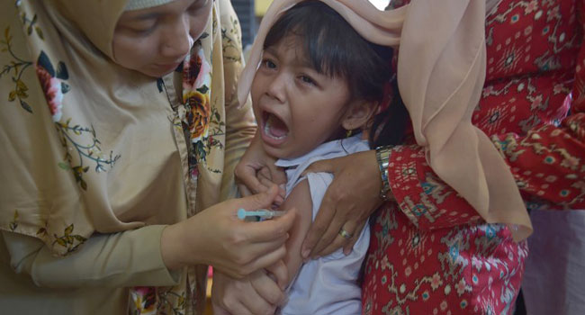 Indonesia Vaccinates Millions To Halt Deadly Diphtheria Outbreak