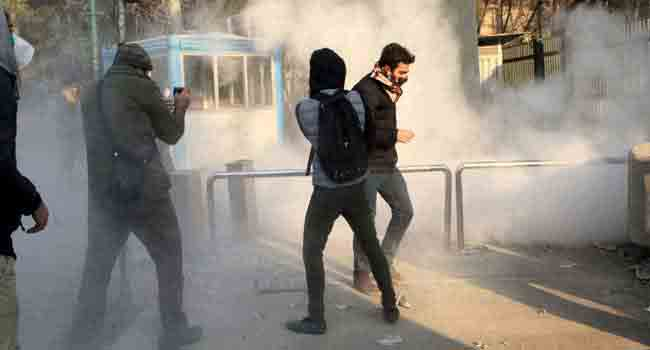 10 Dead In Latest Iran Unrest As Rouhani Defiant