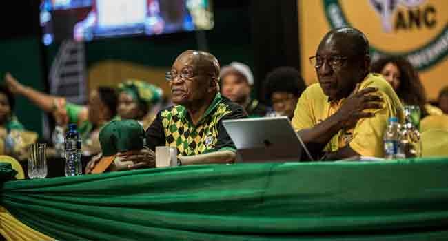 Zuma, Ramaphosa Face Battle Of Wills Over S.Africa's Future