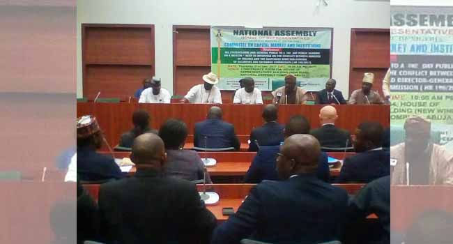 House Commences Hearing On Conflict Between Finance Minister, SEC DG
