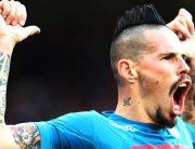 Hamsik Breaks Maradona's Record, Helps Napoli Retain Lead