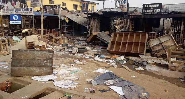 Fire Destroys Property Worth Millions In Ondo