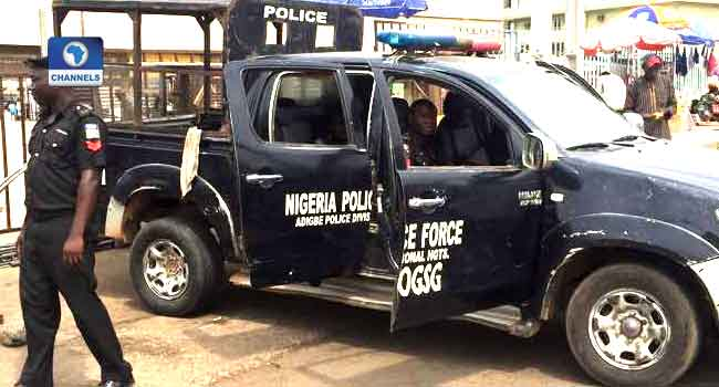 PHOTOS: Police Flood Panseke Over MAPOLY Students' Protest