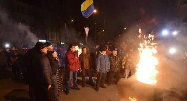Ex-Georgian President Saakashvili On Hunger Strike After Ukraine Arrest