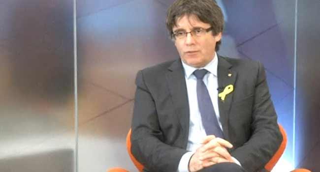 Spanish Court Suspends Puigdemont's Return To Power In Catalonia