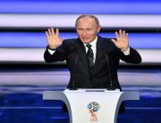 Putin Opens 2018 World Cup Draw Ceremony In Moscow