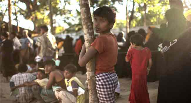 Six Dead In Fire At Rohingya Camp In Myanmar