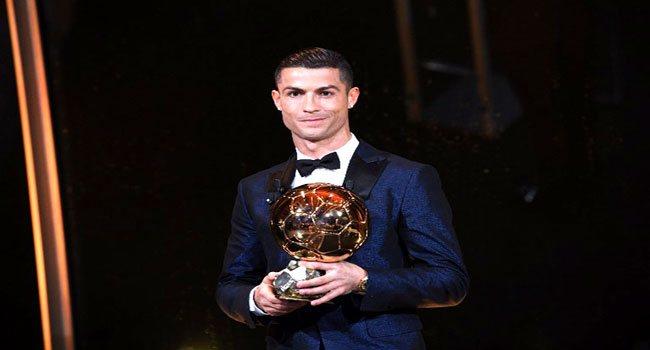 Ronaldo Beats Messi, Neymar To Win Fifth Ballon d'Or
