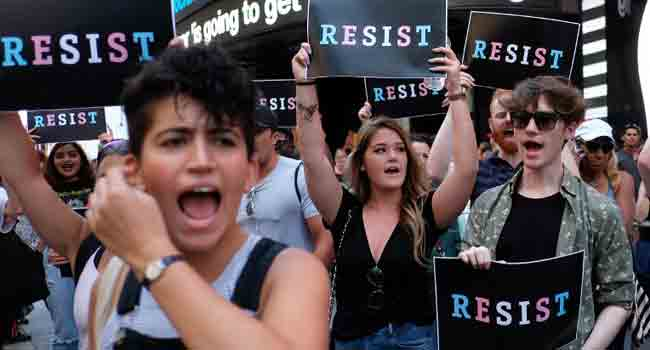 Judge Clears Way For Transgender Recruits In US Military