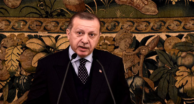 'Be Careful!' Erdogan Warns French Reporter Over Syria Question