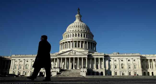 U.S. Congress Averts Shutdown, Sends Trump Two-Week Spending Stopgap