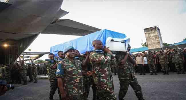 Tanzania Calls For Probe Into UN Peacekeeper Killings