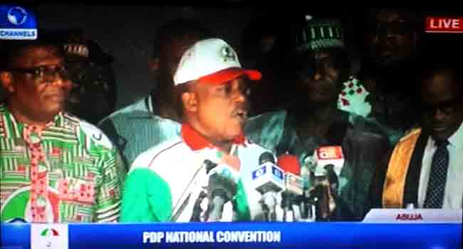 Uche Secondus Sworn In As PDP's National Chairman