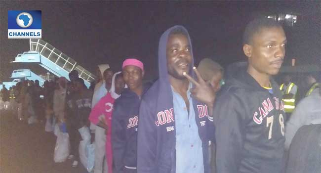 Another 387 Stranded Nigerians Return From Libya